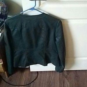 Roz & Ali Other - A greenish leather jacket
